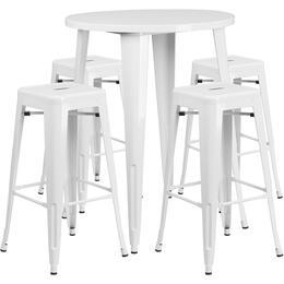 Flash Furniture CH51090BH430SQSTWHGG