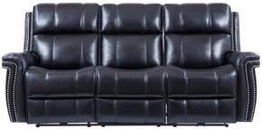 Global Furniture USA U1707BLACKPRSWPHR