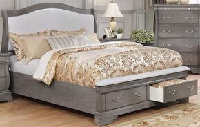 Furniture of America CM7504GYCKBED