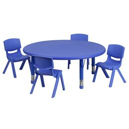 Flash Furniture YUYCX00532ROUNDTBLBLUEEGG