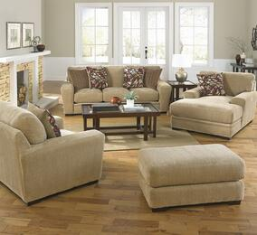 Prescott Collection 44874PCSTLCOBNKIT1OA 4-Piece Living Room Sets with Stationary Sofa, Loveseat, Chaise and Ottoman in Oatmeal