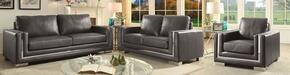 Furniture of America CM6424GYSFLVCH