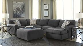 Sorenton 28600SSOR 2-Piece Living Room Set with Right Chaise Sectional Sofa and Ottoman in Slate