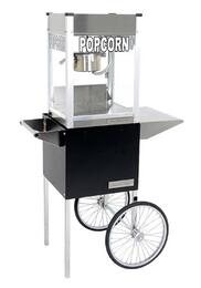 "1104710 4-Oz. 16"" Professional Series Popcorn Machine with Commercial Grade Stainless Steel Construction, Built-in Warming Deck and Popcorn Cart"
