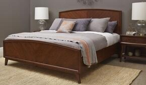 Modern Harmony 40315012B2N 3 PC Bedroom Set with Queen Size Panel Bed + 2 Nightstands in Walnut Finish