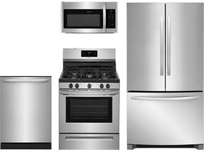 4-Piece Stainless Steel Kitchen Package With FFHG2250TS 30