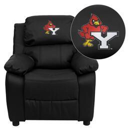 Flash Furniture BT-7985-KID-BK-LEA-41114-EMB-GG