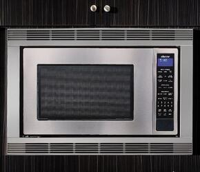 "2-Piece Stainless Steel Set with Distinctive DMW2420S 24"" Microwave Oven and AMTK36S 36"" Microwave Trim Kit"