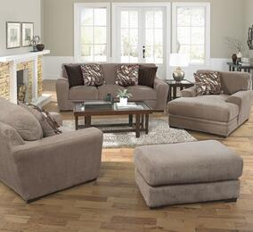 Prescott Collection 44874PCSTLCOBNKIT1OT 4-Piece Living Room Sets with Stationary Sofa, Loveseat, Chaise and Ottoman in Otter