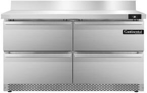 Continental Refrigerator SW48BSFBD