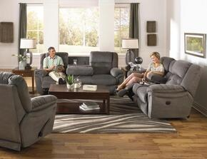Joyner Collection 4255-2044-38/2045-38SET 3 PC Living Room Set with Lay Flat Reclining Sofa + Loveseat + Recliner in Slate Color