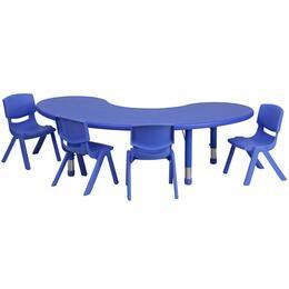 Flash Furniture YUYCX00432MOONTBLBLUEEGG