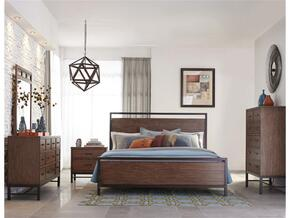 Affinity 710QPBDMNC 5-Piece Bedroom Set with Queen Panel Bed, Dresser, Mirror, Nightstand and Chest in Mango Color