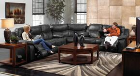 Catalina Collection 64311-1227-28/3027-28SECR 3 PC Sectional Sofa Set with Power Reclining Sofa + Loveseat + Wedge in Steel Color