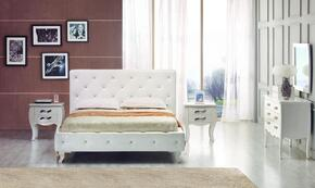 VIG Furniture VGKCMONTEWHTQ