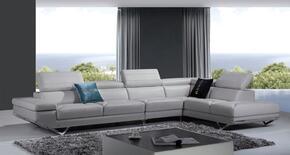VIG Furniture VGKNK8488LTGRY