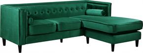 Meridian 643GREENSECTIONAL