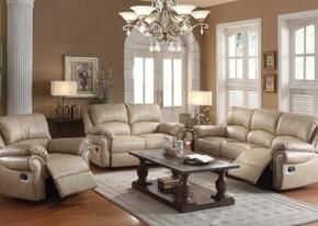 Isadora Collection 51430SLR 3 PC Living Room Set with Sofa + Loveseat + Recliner in Beige Color