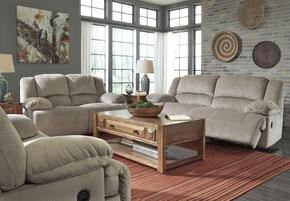 Toletta 56703SLR 3-Piece Living Room Set with 2-Seat Reclining Sofa, Reclining Loveseat and Zero Wall Recliner in Granite