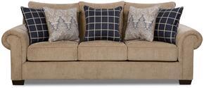 Simmons Upholstery 7592BR04QEGAVINMUSHROOM