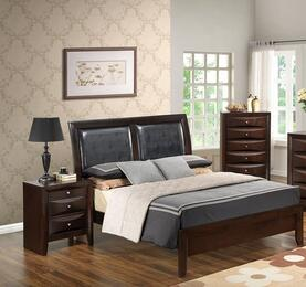 G1525AFBNCH 3 Piece Set including  Full Size Bed, Nightstand and Chest in Cappuccino