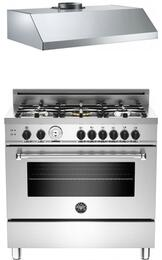 Stainless Steel 2-Piece Kitchen Package With MAS365GASXT 36