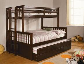 Furniture of America CMBK458FEXPBEDTRUNDLE