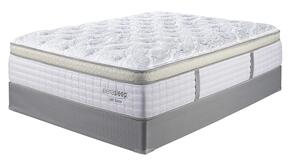 Bliss Collection MF-122/210-T Euro Top Mattress and Foundation Set in Twin Size