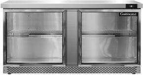 Continental Refrigerator SW60GDFB