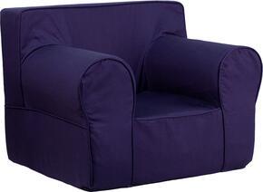 Flash Furniture DGLGECHKIDSOLIDBLGG