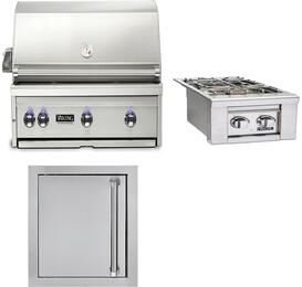 3-Piece Stainless Steel Outdoor Kitchen Package with VQGI5360LSS 36