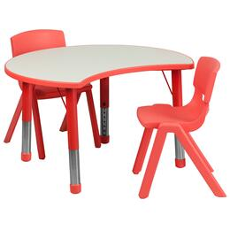 Flash Furniture YUYCY0930032CIRTBLREDGG