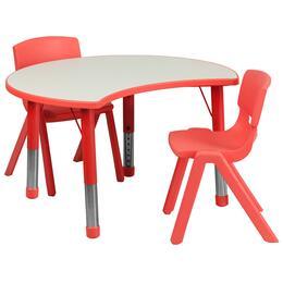 Flash Furniture YUYCY0930032CIRTBLREDGG