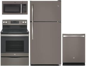 4-Piece Kitchen Package with GTS21FMKES 32