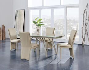 Global Furniture USA D2177DT4D6605DCTAUPE