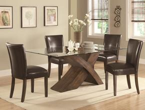 103051SET5 Nessa 5 PC Dining Set (Table and 4 Chairs) by Coaster Co.