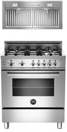 "2-Piece Stainless Steel Kitchen Package With PRO304GASX 30"" Professional Series Gas Freestanding Range and free KIN30PROX 30"" Professional Series Cabinet Insert Hood"