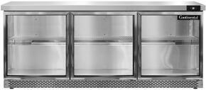 Continental Refrigerator SW72GDFB