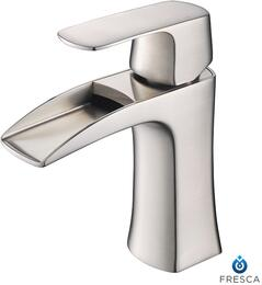 FFT3071BN Fortore Single Hole Mount Bathroom Vanity Faucet - Brushed Nickel...