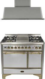 2-Piece Stainless Steel Kitchen Package with UMCD100FDMPIY 40