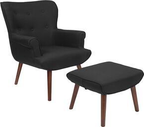 Flash Furniture QYB39COBKGG