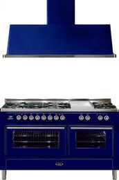 2-Piece Midnight Blue Kitchen Package with UMT150FDMPBL 60