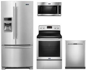 4-Piece Stainless Steel Kitchen Package with MFI2269FRZ 33