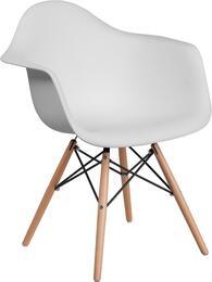 Flash Furniture FH132DPPWHGG