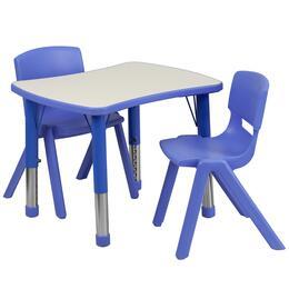 Flash Furniture YUYCY0980032RECTTBLBLUEGG