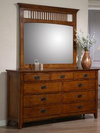 Tremont Collection SSTR75SS-TR750-DR_MR 2 PC Dresser & Mirror Set