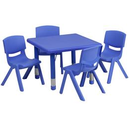 Flash Furniture YUYCX00232SQRTBLBLUEEGG