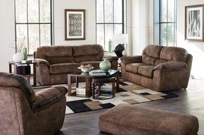 Atlee Collection 3PCQSTLARMKIT1C 3-Piece Living Room Sets with Sofa Beds, Loveseat and Living Room Chair in Chestnut