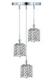 Elegant Lighting 1283DRPCLRC
