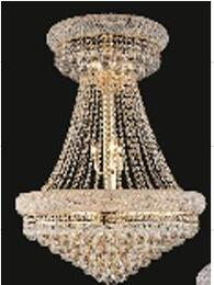 J & P Crystal Lighting SP1800D28G